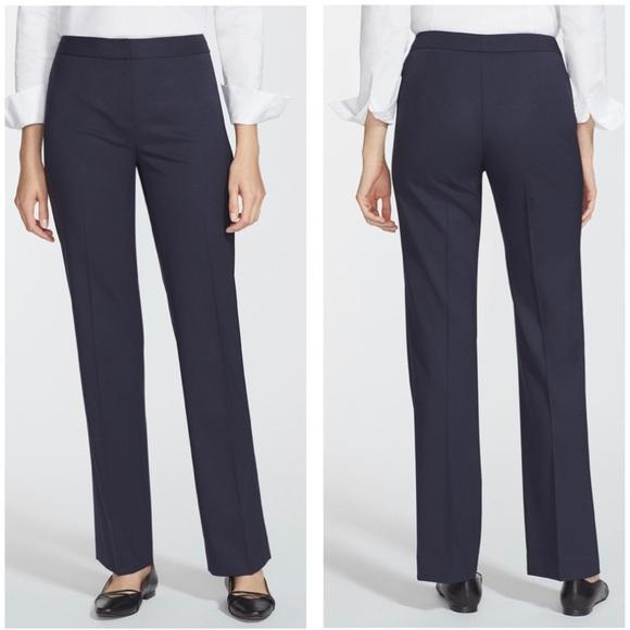 Lafayette 148 New York Pants - Lafayette 148 NY Navy Wool Pants Size 10